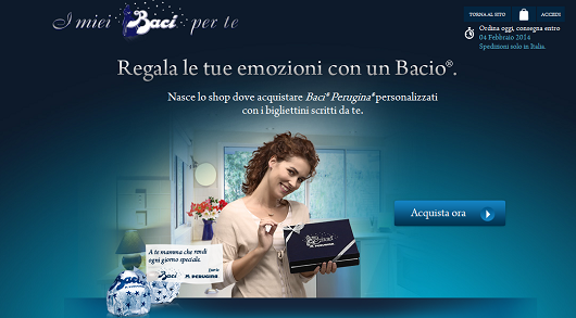 Italy: Perugina launches new e-commerce initiative