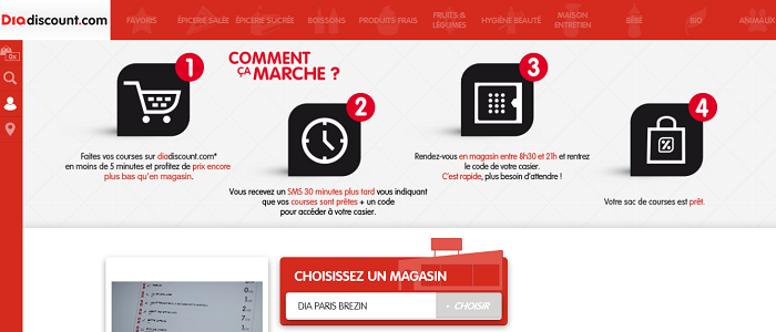 "France: Dia introduces 30 minute ""click and collect"" service"