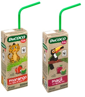 Brazil: Ducoco Alimentos launches coconut water for kids and forms new partnership with WWF Brazil
