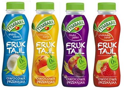 Innovation Insight: Tymbark Fruktajl Fruit Drink Snack