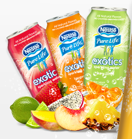 USA: Nestle extends Pure Life water brand with new Exotics range