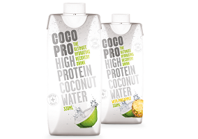 UK: CocoPro launches high protein coconut water