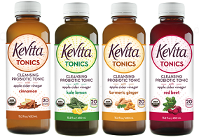 USA: KeVita launches Cleansing Probiotic Tonics