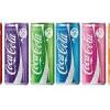 Australia: Coca Cola launches slimline cans in bright colours