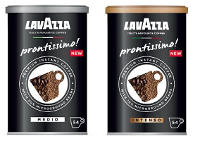 UK: Lavazza Coffee to launch instant coffee brand Prontissimo!