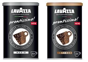 UK: Lavazza Coffee to launch instant coffee brand Prontissimo!