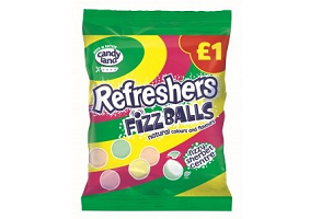 UK: Tangerine Confectionery launches Refreshers Fizz Balls
