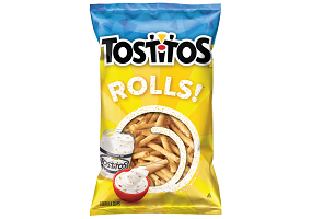 USA: PepsiCo introduces dipping snack Tostitos Rolls!