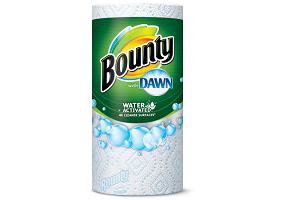 Innovation Insight: Bounty Kitchen Towel with Dawn
