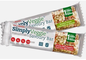 Canada: Wellness Foods launches Simply Veggie Savoury Bar