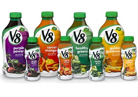 USA: Campbell Soup to launch V8 vegetable and fruit beverages