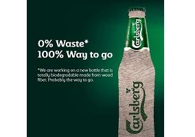 Denmark: Carlsberg to develop biodegradable bottle
