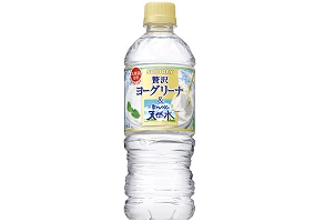 Japan: Suntory to launch yoghurt-flavoured bottled water