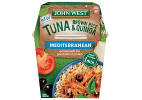 Australia: Simplot debuts John West ready-to-eat tuna meal range