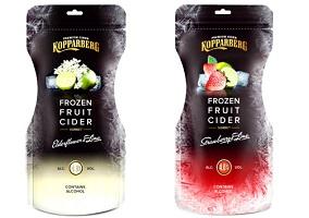 "UK: Kopparberg introduces ""first"" frozen cider"