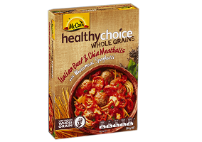 Australia: McCain Foods launches Healthy Choice Wholegrains range