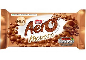 UK: Nestle to launch new Aero Mousse chocolate bar