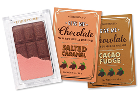 Chocolate bars find a new home in eye cosmetics