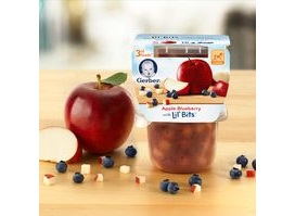 USA: Gerber launches Gerber 3rd Foods Lil' Bits
