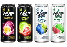 USA: PepsiCo rolls out four new flavors for AMP Energy