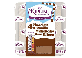 UK: Premier Foods introduces milkshake-flavoured Mr. Kipling cake slices
