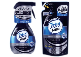 'No wash' laundry solution has men in its sights