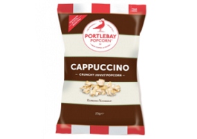 UK: Portlebay Popcorn adds Cappuccino to its flavour range