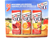 Spain: Mahou San Miguel adds three flavours to San Miguel 0.0% range