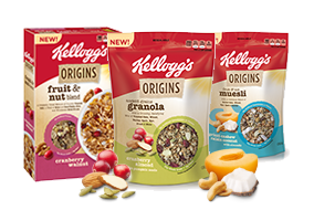 USA: Kellogg's launches Origins cereal line
