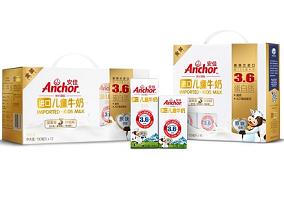 China: Fonterra launches Anchor Kids' Golden Milk
