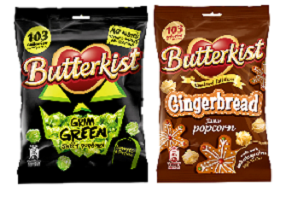 UK: Tangerine Confectionery to release two limited seasonal Butterkist popcorns
