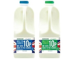 "UK: Morrisons to launch ""Morrisons Milk for Farmers"""