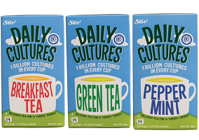 Probiotics stir up the tea market