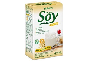 "Thailand: Nutrina Interfoods launches ""healthy"" soy powder"