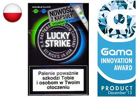 Gama Innovation Award: Lucky Strike Double Click Cigarettes