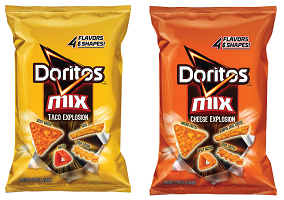 USA: PepsiCo launches 'four in one' Doritos Mix