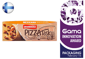 Gama Innovation Award: Grandiosa Pizzatasku Pocket Pizza