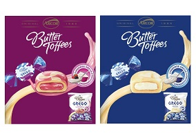 Brazil: Arcor launches butter toffees with greek yoghurt filling