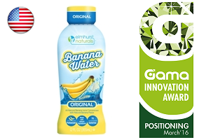 Gama Innovation Award: Elmhurst Naturals Banana Water