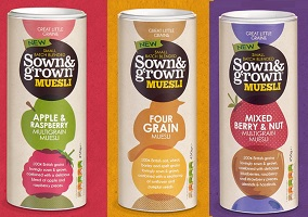 UK: Great Little Grains launches breakfast cereal in a tube