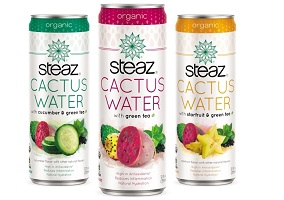 USA: Healthy Beverage launches Steaz Cactus Water