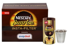 "India: Nestle introduces ""insta-filter"" coffee"