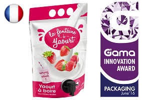 Gama Innovation Award: La Fontaine A Yaourt Yoghurt Drink