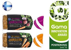 Gama Innovation Award: Fazer Vegetable Bread