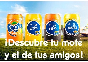 Spain: Coca-Cola launches Fanta with 'nicknames'