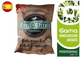 Gama Innovation Award: FishSnack's Fish & Chips