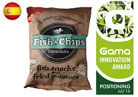 Gama Innovation Award: FishSnack's Fish & Chips