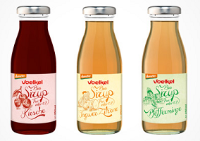 Germany: Voelkel launches new organic fruit syrups