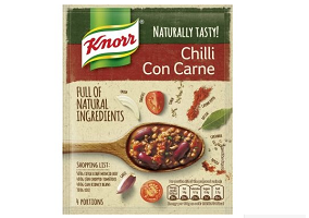 UK: Unilever launces Knorr dried meal mixes