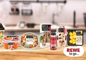 Germany: Rewe launches Rewe To Go brand